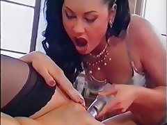 Anal Brunette Czech Threesome