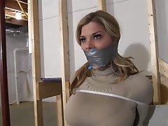 BDSM Big Boobs Blonde