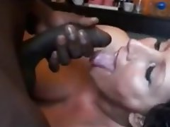 Amateur Brunette Cumshot Interracial