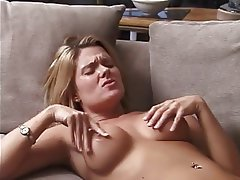 MILF Blowjob Big Boobs Threesome Blonde