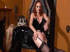 BDSM Blonde Redhead Latex Femdom