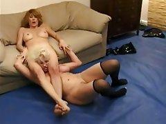 Bisexual Face Sitting Femdom Lesbian