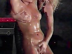 Lesbian Blonde Brunette BDSM