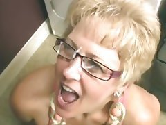 Blowjob Mature Facial Granny
