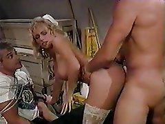 Blonde Medical MILF Stockings