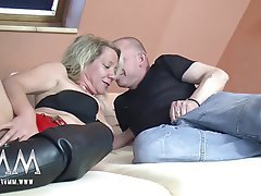 Amateur Big Boobs German Mature