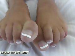 BDSM Femdom Foot Fetish Stockings