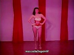 Vintage Pornstar Babe Brunette