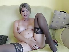 Anal Mature Nylon Stockings