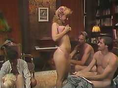 Blowjob Group Sex MILF Blonde