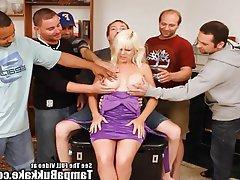 Amateur Big Boobs Blonde Bukkake