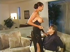 Big Boobs Cunnilingus Face Sitting Femdom