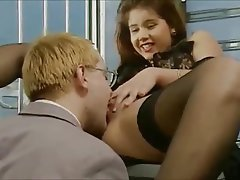 Anal Brunette German Stockings