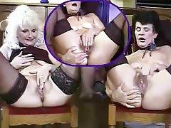 Cunnilingus Granny Lesbian Masturbation