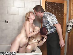 Granny Mature Old and Young Teen