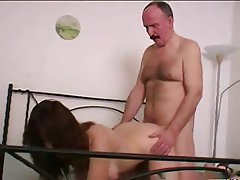 Brunette Hairy Russian Old and Young