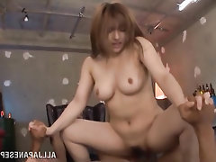 Asian Big Tits Blowjob Creampie