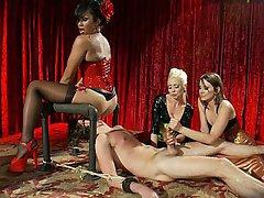 Mistress Femdom Stockings CFNM