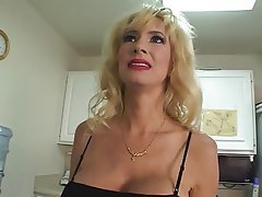 Blowjob Facial Big Boobs Blonde