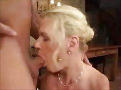 Anal Blonde German Mature