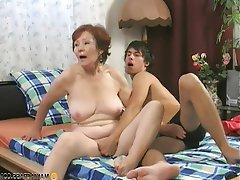 Brunette Granny Hardcore Mature