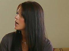 Brunette Cumshot MILF Small Tits