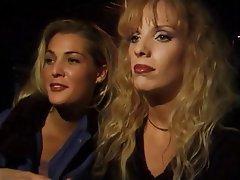 Lesbian Blonde Lingerie Handjob