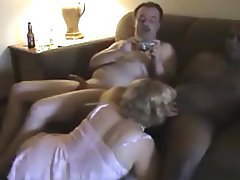 Blowjob Cuckold Interracial Mature