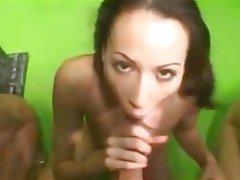 Anal Blowjob Cumshot Double Penetration Pornstar