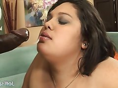 BBW Hardcore Interracial
