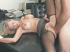 Anal Blonde MILF Pornstar