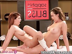 Cunnilingus Lesbian Massage Pornstar