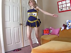 BDSM Blonde Cheerleader Latex