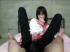 Asian Cosplay Nylon Stockings