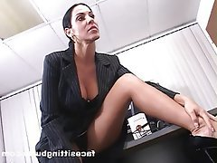 Mature MILF Old and Young Secretary