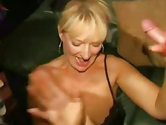 Amateur Blonde Cumshot MILF