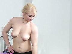 Babe Casting Lesbian Masturbation
