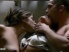 Big Boobs Celebrity Softcore Threesome