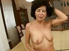 Granny Hairy Old and Young Orgasm