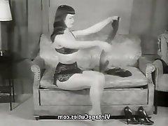 Babe Pornstar Secretary Stockings Vintage