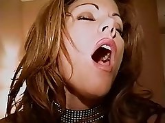 Masturbation Brunette Nylon Mature