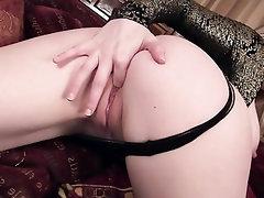 Babe Big Tits Masturbation Panties