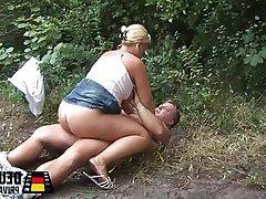 Big Boobs Blowjob German Amateur