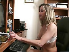 Lesbian MILF Old and Young Orgasm