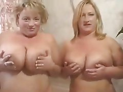 Big Boobs Blonde British Lesbian