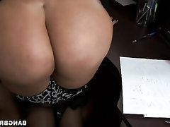 Amateur BBW Big Ass Blowjob