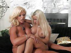 Big Boobs Blonde Femdom Lesbian
