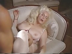 Blonde Nylon Vintage MILF