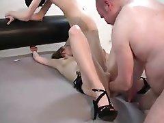 Amateur MILF Threesome