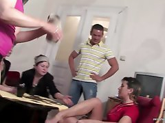 Group Sex Granny Mature Gangbang
